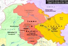 union territories of jammu and kashmir and ladakh
