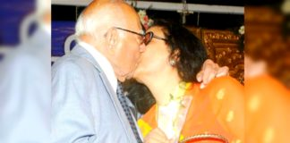 Jethmalani caught kissing late Kishore Kumar's wife